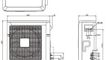 Fujitsu VRF J Serisi – Dış Ünite Boyutları