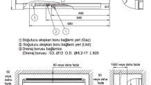 Fujitsu VRF J Serisi – İç Ünite Duvar Tipi (Kompakt) Boyutları