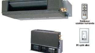 Fujitsu VRF J Serisi – Kanal tipi (Kompakt)